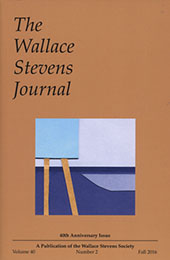 wallace stevens journal