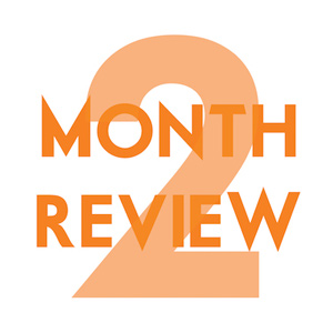 2 month review podcast image