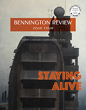 bennington review cover