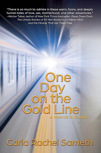 one day on gold line sameth