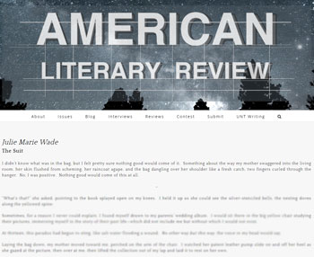 american literary review suit wade