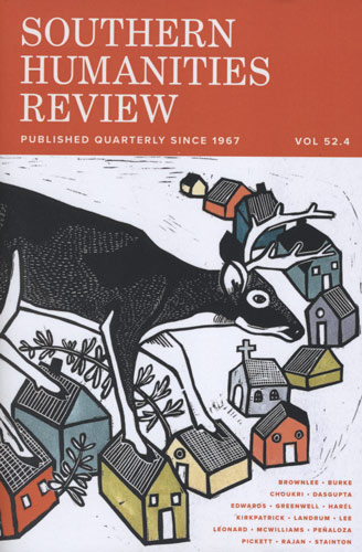 southern humanities review winter 2019