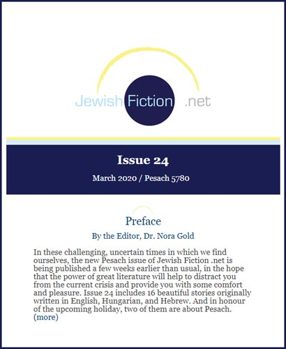 jewish fiction net march 2020