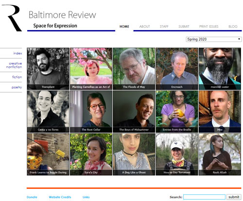 baltimore review spring 2020