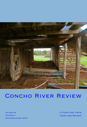 concho river review spring summer 2020