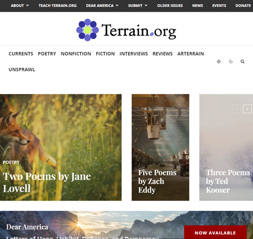 terrain org october 2020